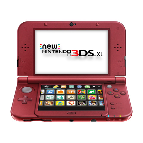 Nintendo has announced that the New Nintendo 3DS XL system will launch in the U.S. on Feb. 13 at a suggested retail price of $199.99. (Photo: Business Wire)