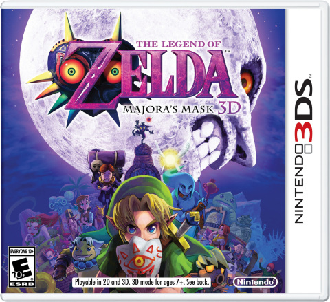 Nintendo also revealed the Feb. 13 launch date of The Legend of Zelda: Majora's Mask 3D. (Photo: Business Wire)