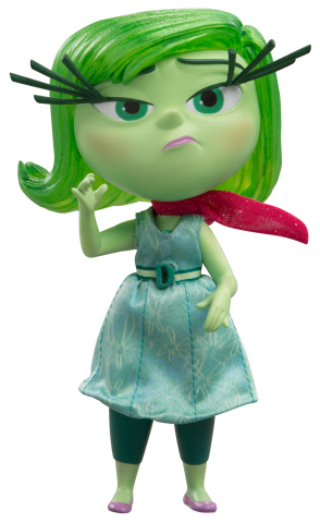 Disney∙Pixar's Inside Out Definitive Figures from TOMY: Disgust (Photo: Business Wire)