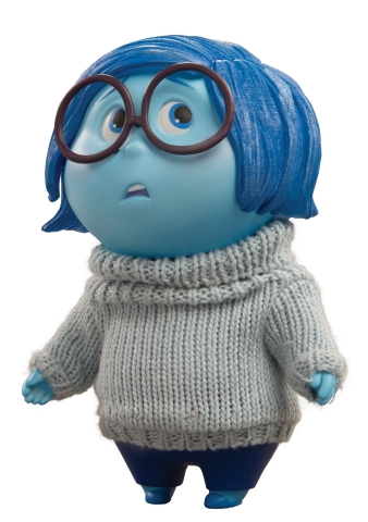 Disney∙Pixar's Inside Out Definitive Figures from TOMY: Sadness (Photo: Business Wire)