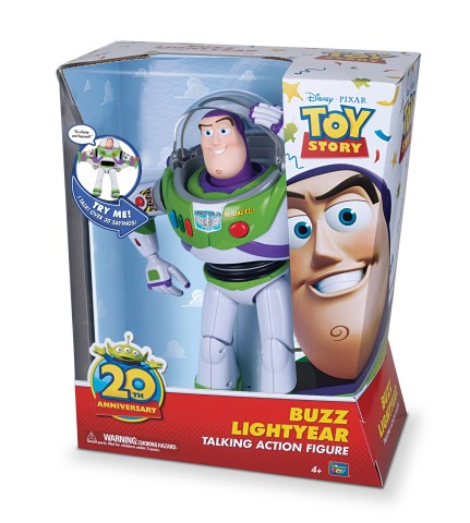 Buzz Lightyear Talking Action Figure from Thinkway (Photo: Business Wire)