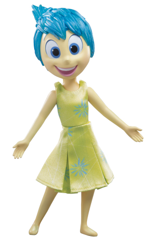 Disney∙Pixar's Inside Out Definitive Figures from TOMY: Joy (Photo: Business Wire)