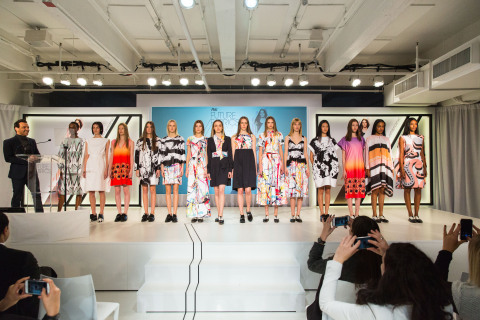 Giles Deacon Washable Fashion Collection for P&G Future Fabrics (Photo: Business Wire)