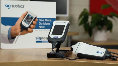 SignosRT Bladder scanner (Photo: Business Wire)