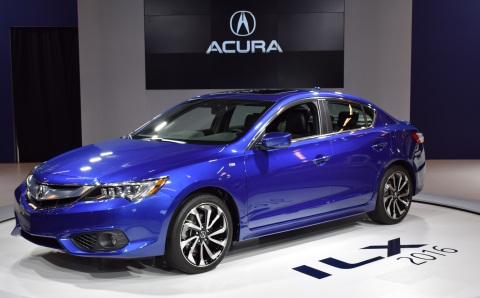 The all-new 2016 Acura ILX is unveiled at the Montreal International Auto Show. (Photo: Business Wir ...