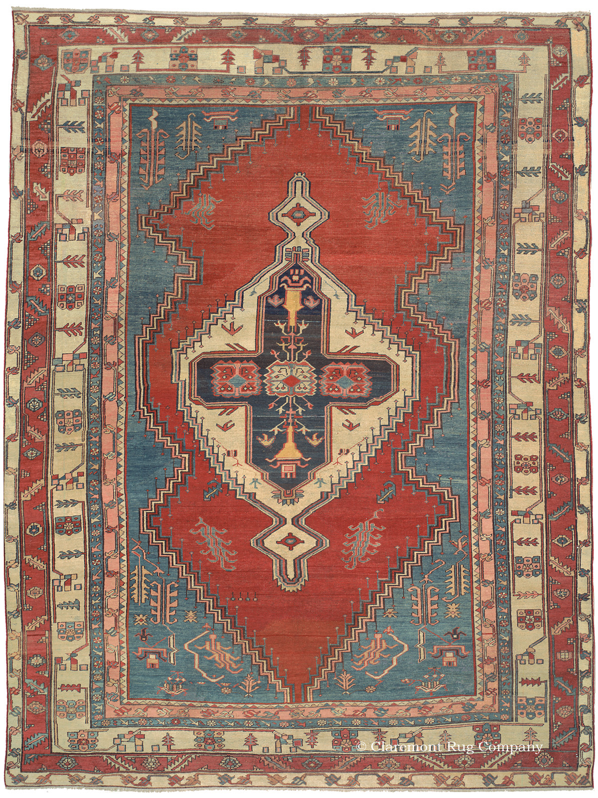 Claremont Rug Company Exhibits U201cBest Of The Best Antique Rugs Sold In 2014u201d  | Business Wire