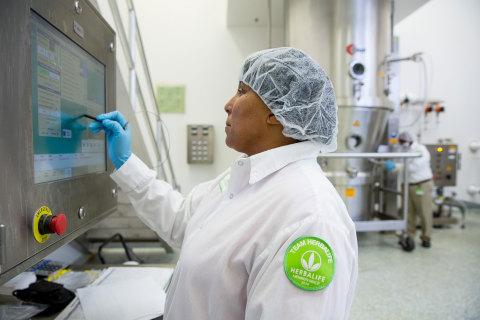Herbalife employee is one of more than 350 employees currently employed at the new Herbalife Innovat