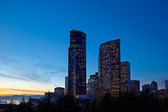 Columbia Center to Light Up Seattle Skyline (Photo: Business Wire)