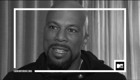 Artist and activist Common shares his perspective on race as part of MTV's #TheTalk. (Photo: Business Wire)