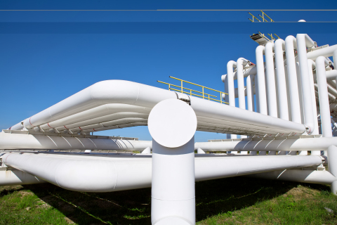 Abcite thermoplastic powder coating application on pipe (Photo: Business Wire)