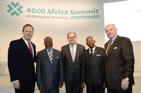 Rob Smith, Senior Vice President and General Manager, Europe, Africa and Middle East; H. E. Joaquim ...