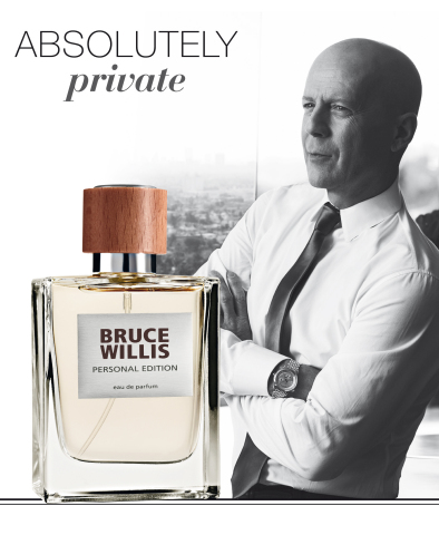 The famous Hollywood star Bruce Willis has prolonged his contract with the globally operating cosmetics manufacturer LR Health & Beauty based in Germany for the third time.Together with LR, Bruce Willis already developed three fragrances which are internationally marketed through sales partners and an online shop. (Photo: Business Wire)