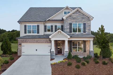 The community of marketplace commons in cumming ga for Fully decorated homes