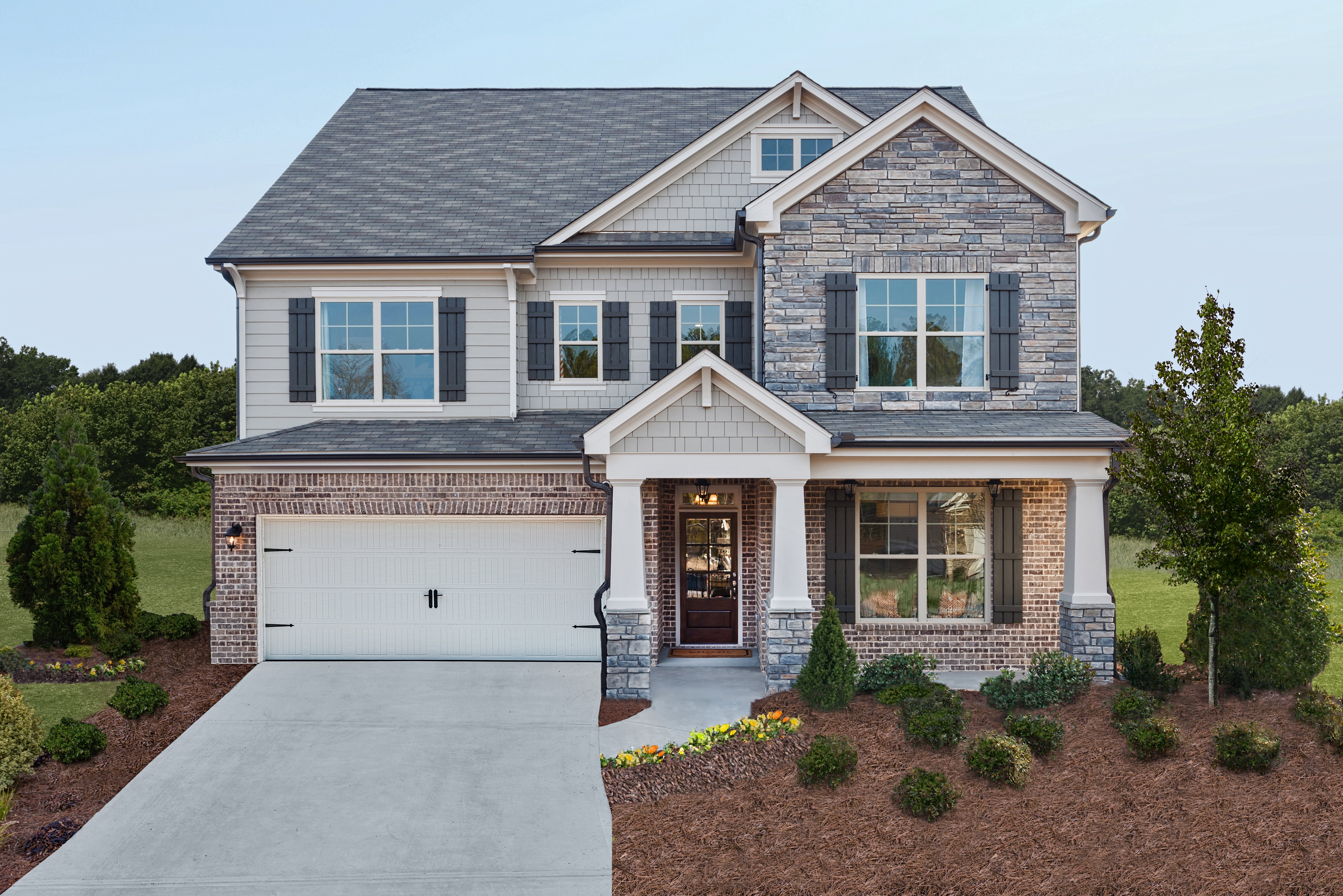 ryland homes atlanta opens new decorated model at marketplace