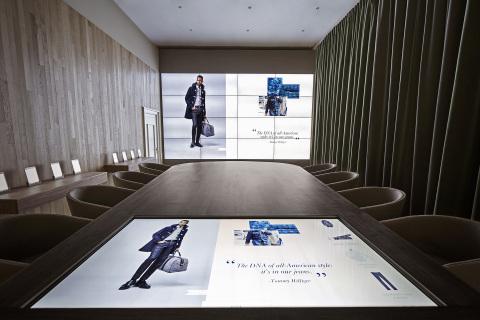Tommy Hilfiger Digital Showroom (Photo: Business Wire)
