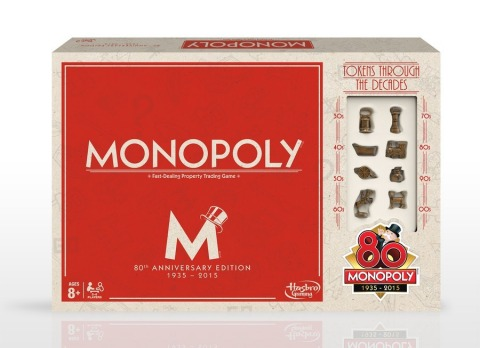 Monopoly 80th Anniversary Edition Game package