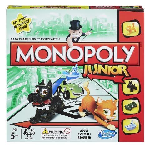 Monopoly Junior Game (2014)