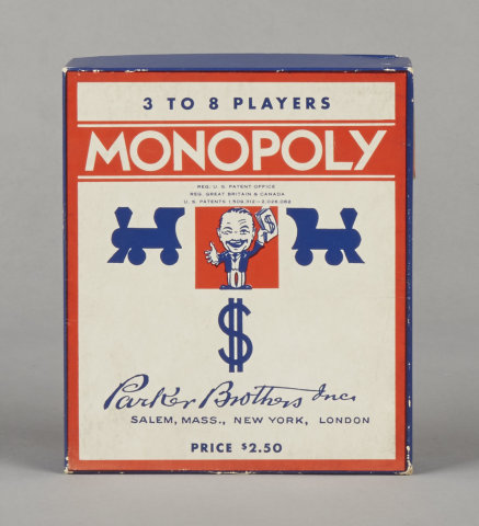 Monopoly Popular Edition Game (1936)