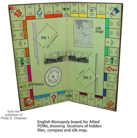 World War II Waddington's Monopoly Game - Credit Phil Orbanes