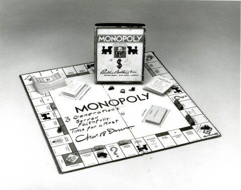 Charles Darrow Signed Monopoly Popular Edition Game (1938) - Credit Phil Orbanes