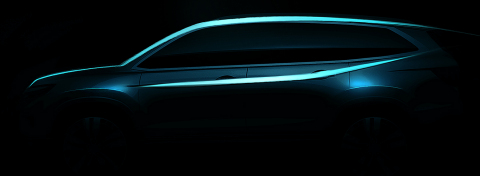 A completely re-engineered and redesigned Honda Pilot SUV will make its debut at the 2015 Canadian I ...