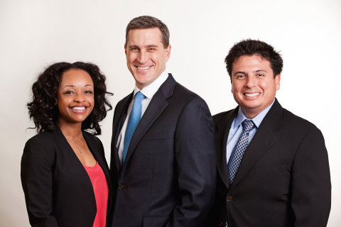 Gurtin Fixed income is excited to announce the promotion of Shandi Johnson to Partner (L), Erik Davidson to Chief Financial Officer (C), and  Hugo Santamaria to Chief Technology Officer (R). (Photo: Business Wire)