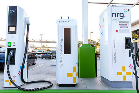 eVgo fast charging allows electric vehicle drivers to charge their vehicles in the time it takes to