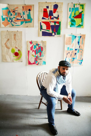 Artist Hormazd Narielwalla's exhibit will launch Saatchi Art's solo show series that features emerging artists. (Photo Credit: Denis Laner)