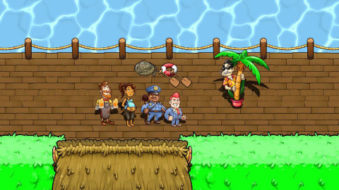 Get Citizens of Earth in the Nintendo eShop on Wii U and Nintendo 3DS for the introductory price of $11.99 each. (Photo: Business Wire)