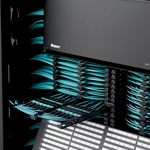 HD Flex Fiber Cabling System provides the density Data Centers need with innovative features that im ...