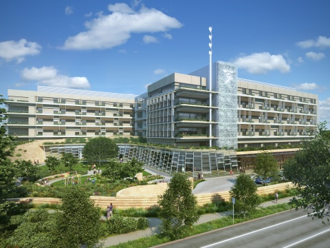 The expansion and new main building for Lucile Packard Children's Hospital Stanford will open in early 2017. (Photo: Business Wire)