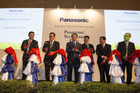 Panasonic Solutions Expo Cambodia Opening Ceremony (Photo: Business Wire)