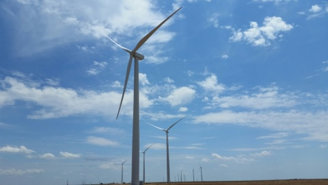 200-megawatt Hereford Wind Project in Texas. (Photo: Business Wire)