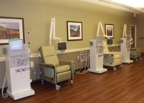 American Renal Associates Offers Spacious Interiors (Photo: Business Wire)