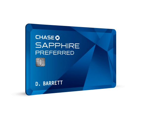 Chase Sapphire Preferred Card Art (Graphic: Business Wire)