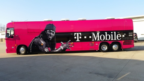 T-Mobile signs a deal with Richard Sherman for this week's big game and 2015 season. (Photo: Busines