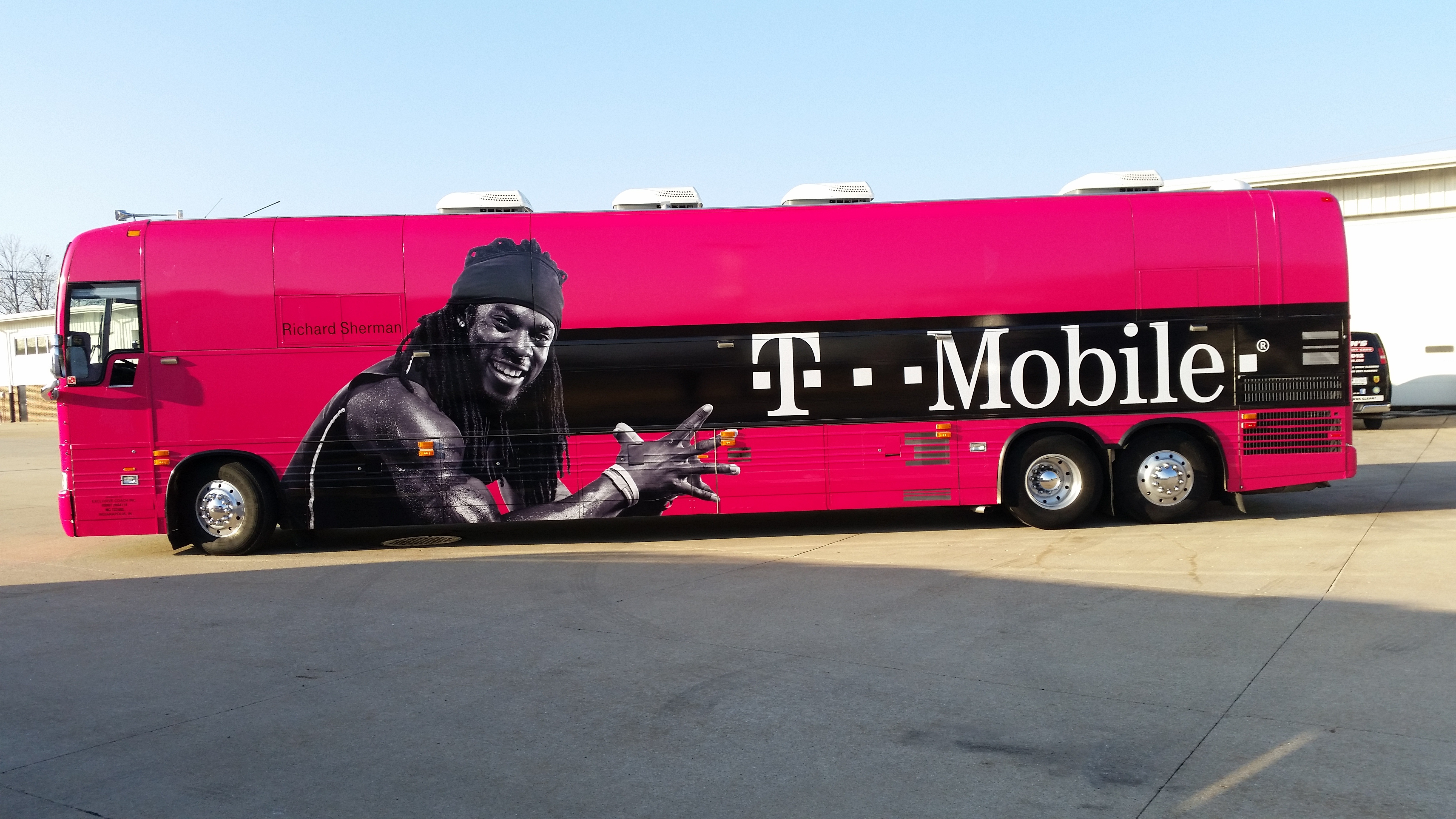 Two Game Changers Unite: T-Mobile and Football Superstar Richard ...