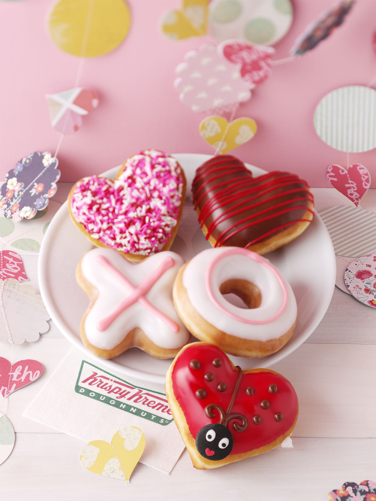 Taste And See Valentine S Day Expressions Of Affection At Krispy