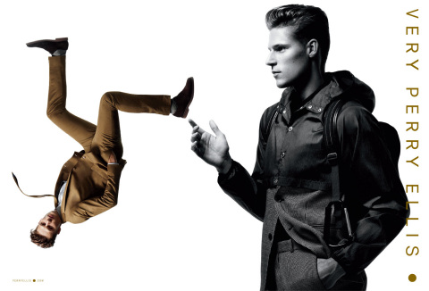 Perry Ellis Spring 2015 Advertising Campaign (Photo: Business Wire)