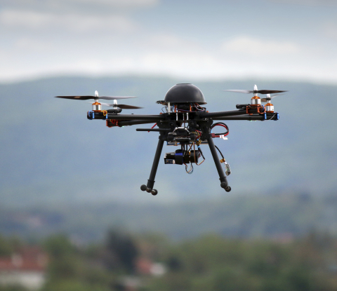 The skies have never been busier as unmanned aerial vehicles take flight, serving multiple industries around the world. (Photo: Business Wire)