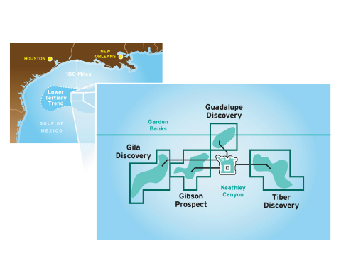 Chevron, BP and ConocoPhillips plan to work together in the northwest portion of Keathley Canyon in the U.S. deepwater Gulf of Mexico. (Graphic: Business Wire)