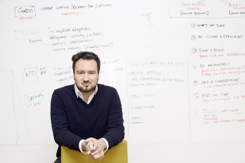 Falcon Social CEO and Founder Ulrik Bo Larsen (Photo: Business Wire)