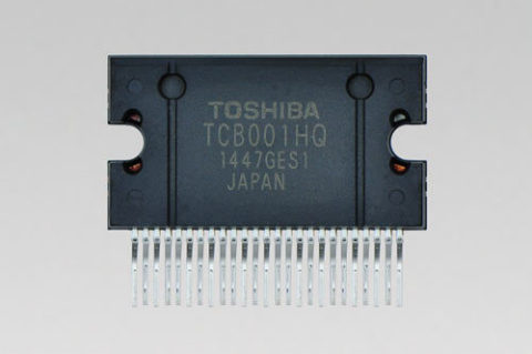 """Toshiba: New power amplifier IC """"TCB001HQ"""" for car audio (Photo: Business Wire)"""