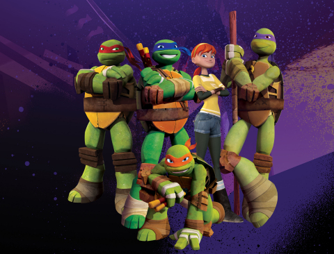 """Teenage Mutant Ninja Turtles"" is a leading television, motion picture and consumer product brand for Viacom. (Photo: Business Wire)"