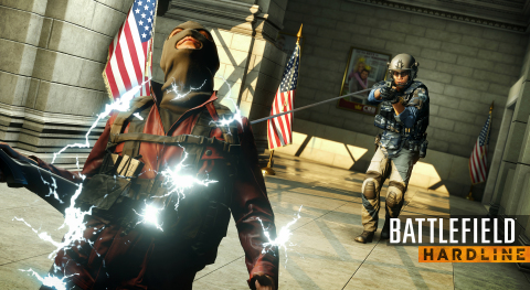 EA and Visceral Games Take Players to the Streets in the Battlefield Hardline Open Beta on February 3 (Graphic: Business Wire)