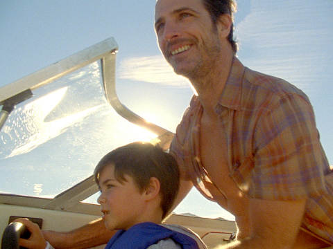 """Nissan's heartwarming """"With Dad"""" Super Bowl commercial resonates with American families (Photo: Business Wire)"""