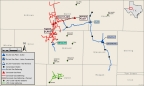 EnLink Midstream's growing asset footprint in West Texas (Graphic: Business Wire)