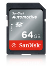 SanDisk(R) SD(TM) card, part of SanDisk's new SanDisk Automotive suite of solutions. (Photo: Business Wire)