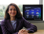 Amena Ali is senior vice president and general manager of the WeatherBug Home business unit of Earth Networks. (Photo: Business Wire)