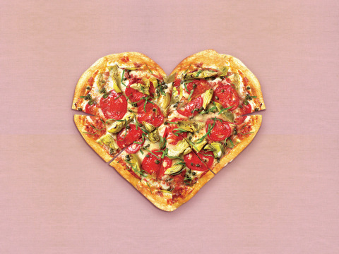 Food Delivery For Valentine S Day Pizza